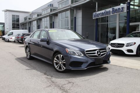 Certified Pre-Owned 2016 Mercedes-Benz E-Class E 350 4MATIC® Sport Sedan