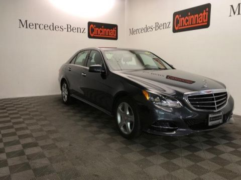 Certified Pre-Owned 2014 Mercedes-Benz E-Class E 350 4MATIC® Sedan