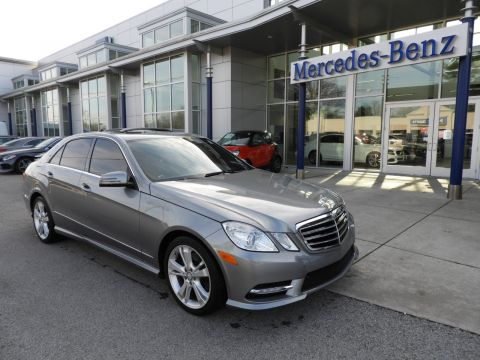 Certified Pre-Owned 2012 Mercedes-Benz E-Class E 350 4MATIC® Sport Sedan