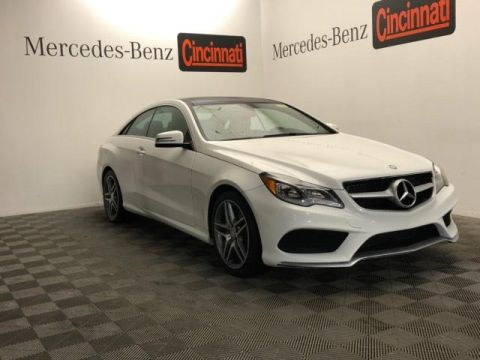 Certified Pre-Owned 2017 Mercedes-Benz E-Class E 400 4MATIC® Coupe