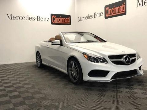Pre-Owned 2016 Mercedes-Benz E-Class 2dr Cabriolet E 400 RWD