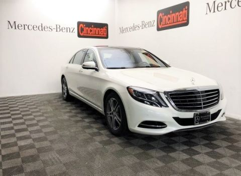 Certified Pre-Owned 2016 Mercedes-Benz S-Class S 550 4MATIC® Sedan