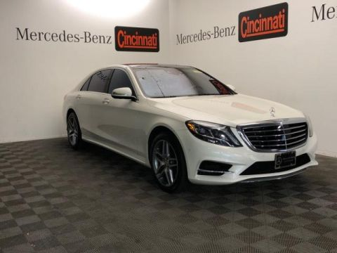 Certified Pre-Owned 2016 Mercedes-Benz S-Class 4dr Sdn S 550 4MATIC®