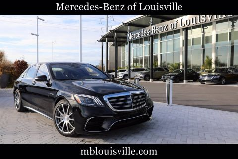 New 2020 Mercedes-Benz S-Class AMG® S 63 4MATIC® Sedan
