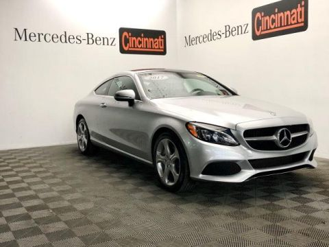 Certified Pre-Owned 2017 Mercedes-Benz C-Class C 300 4MATIC® Coupe