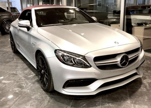 Pre-Owned 2017 Mercedes-Benz C 63 AMG® Cabriolet