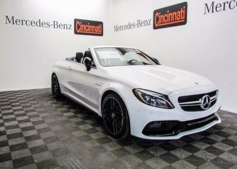 Pre-Owned 2018 Mercedes-Benz C-Class AMG® C 63 S Cabriolet