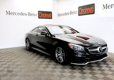 Certified Pre-Owned 2015 Mercedes-Benz S-Class S 550 4MATIC® Coupe