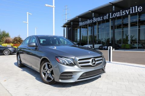 Certified Pre-Owned 2017 Mercedes-Benz E-Class E 300 4MATIC® Sport Sedan