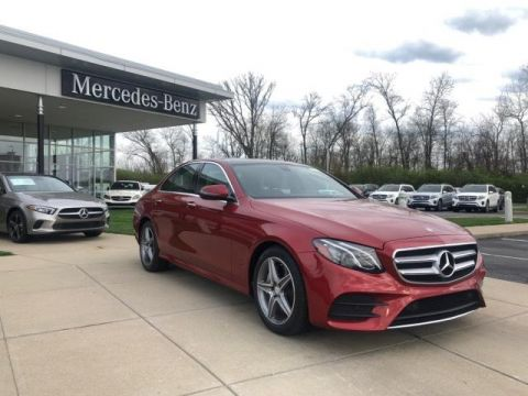 Certified Pre-Owned 2017 Mercedes-Benz E-Class E 300 4MATIC® Sedan