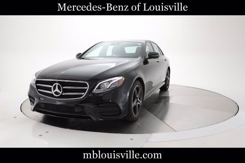 Certified Pre-Owned 2019 Mercedes-Benz E 450 4MATIC® Sedan